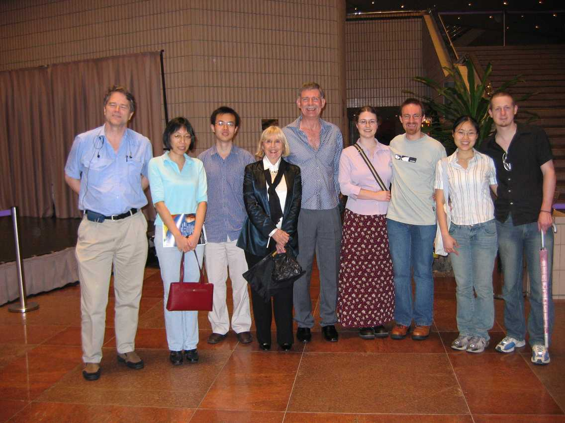 Expat group at the orchestra