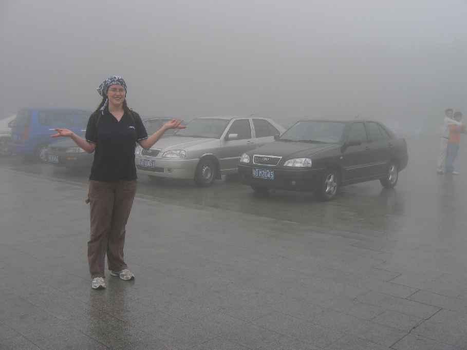 Foggy Carpark